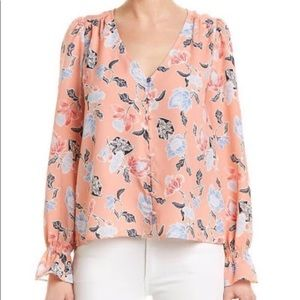 NWT Joie Bolona Top In Persimmon Floral